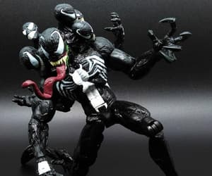 action figure, spider-man, and venom image