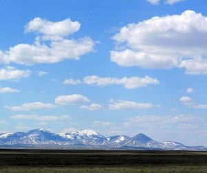 clouds, landscape, and montana image