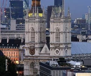 westminster abbey and london-uk image