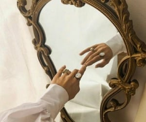 mirror, aesthetic, and jewelry image