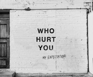 quotes, hurt, and wall image