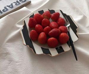 strawberry and aesthetics image