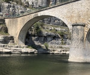 pont, travel, and riviere image