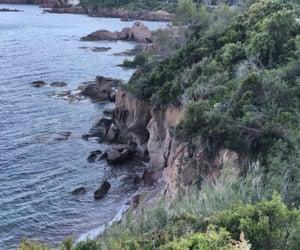 falaise, sea, and mer image