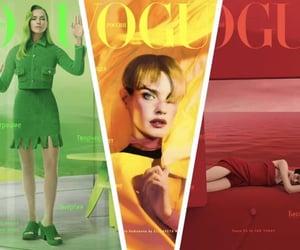 fashion magazine, fashion model, and Natalia Vodianova image