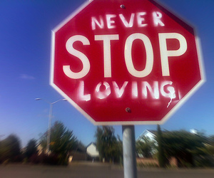love, stop, and loving image