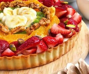 dessert, food, and FRUiTS image