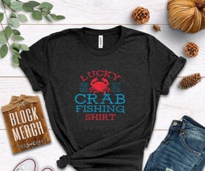 lucky, crab, and fishing image
