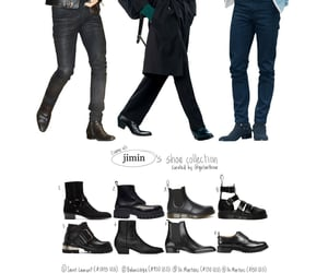 jimincore, archive, and shoes image