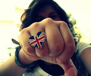 british, ring, and girl image