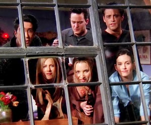 friends, tv show, and chandler bing image