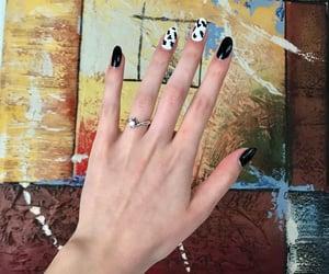 aesthetic, girl, and hand image