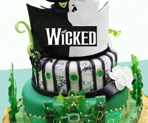 cake, musical, and wicked image