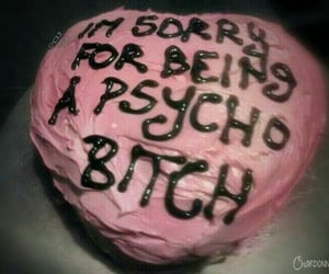 cake, grunge, and Psycho image