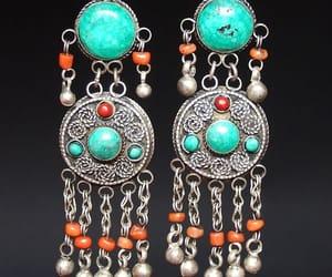 silver earrings image