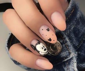 art, mickey mouse, and nail art image