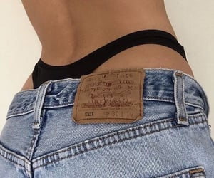 jeans, aesthetic, and body image