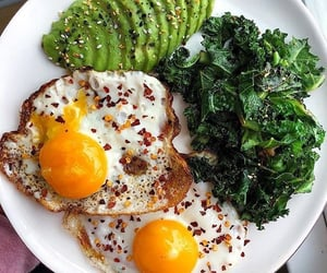 avocado, breakfast, and brekkie image