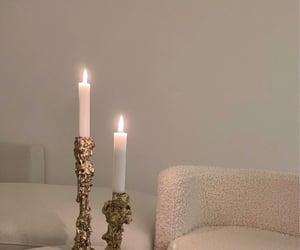 beige, candles, and home image