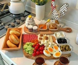 breakfast, cheese, and delicious image
