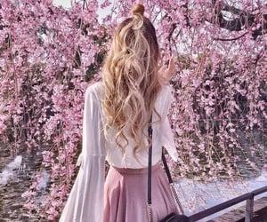 fashion, girl, and spring image