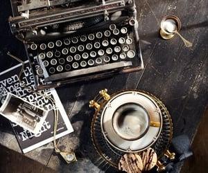 vintage, retro, and typewriter image