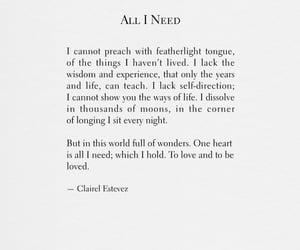 all i need, life, and live image