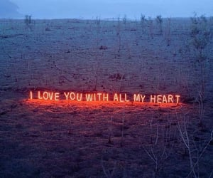 aesthetic, heart, and I Love You image