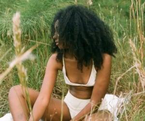 black girl, vintage, and cottagecore image