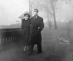 1954, smog, and london image
