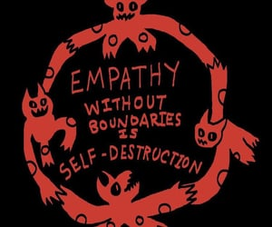 empathy, quotes, and red image