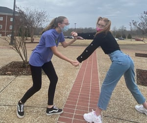 best friends, funny, and shoes image
