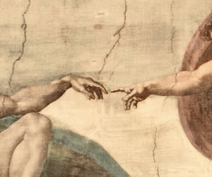 art, painting, and michelangelo image