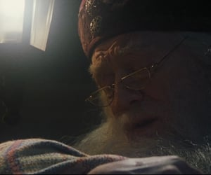 harry potter, dumbledore, and gryffindor image