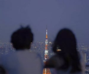 asia, tokyo tower, and japan image