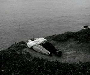 black and white, boyfriend, and love image
