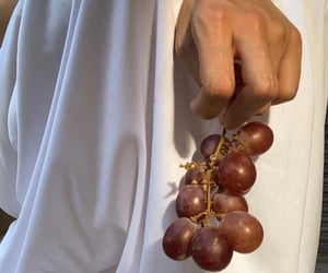 dress, grapes, and muse image