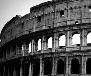 antiquity, architecture, and black & white image