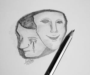 anxiety, sketches, and feelings image