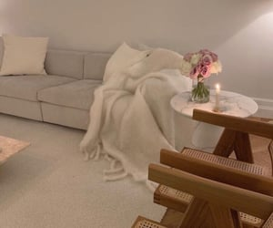 apartment, bedroom, and beige image