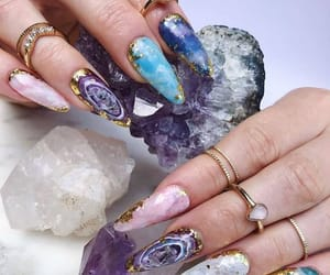 blue, crystal, and lilac image