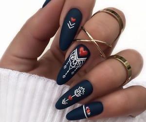 art, nail art, and style image