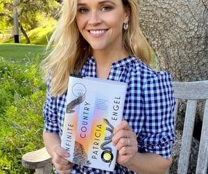 book lovers, actors & actress, and reese's book club image