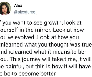 growth, inspiring, and quotes image