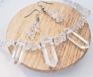 etsy, healing crystal, and natural jewelry image