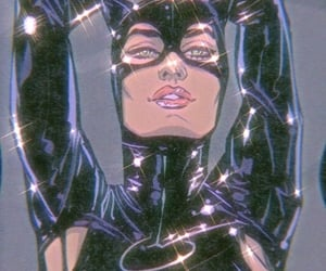 catwoman and patterns image
