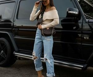 fashion, louboutin shoes, and LV image