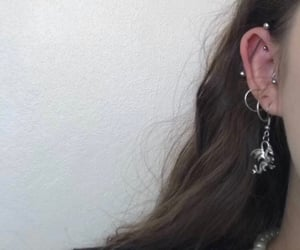 aesthetic, alternative, and earrings image