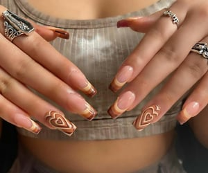 nails art, lady woman women, and art lady healthy image