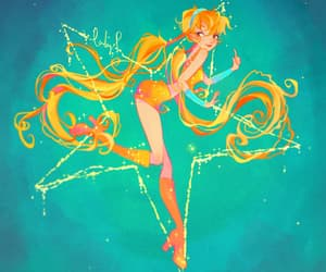 winxclub, magicalwinx, and stella image